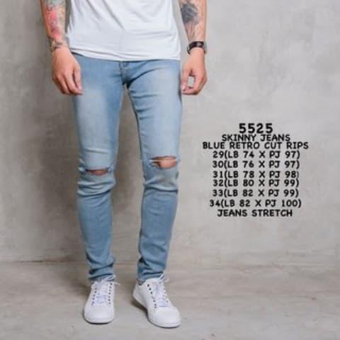 168 Collection Celana Reguler Skinny Jeans Pant Navy. Source · Celana Jeans Sobek Biru Retro/Celana Jeans Pria / Celana Cowok