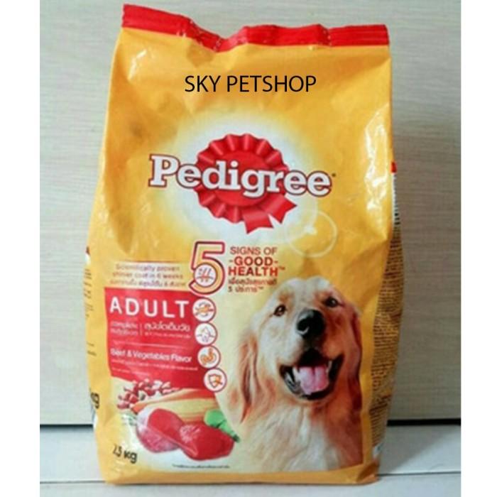 harga Pedigree adult beef & vegetable 1.5kg makanan untuk anjing dry food Tokopedia.com