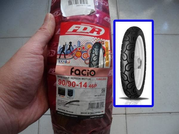 FDR Facio Ukuran 90
