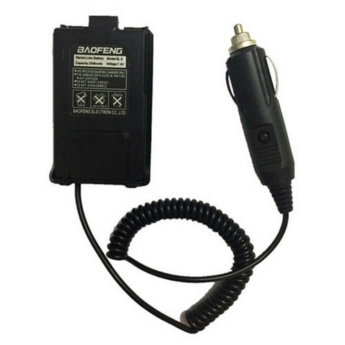 Baofeng Walkie Talkie Car Charger Adapter for BF UV5R BF UV5RE Plus BF