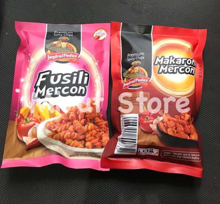 makaroni & fusili jendral pedas premium spicy chips level 3 ...