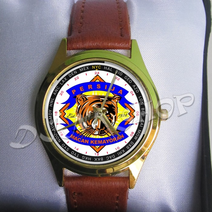 Jam Tangan Custom Persija Part3 New Gokil