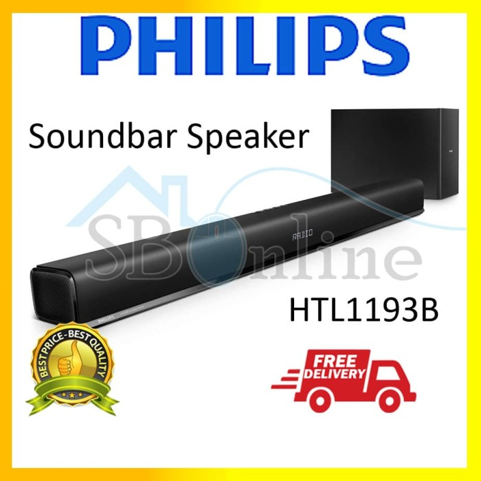 harga Philips htl1193b soundbar speaker Tokopedia.com