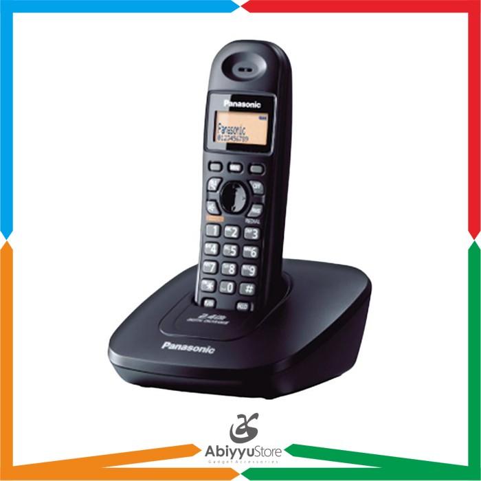harga Telepon wireless cordless panasonic kx-tg3611 / telepon rumah kantor Tokopedia.com