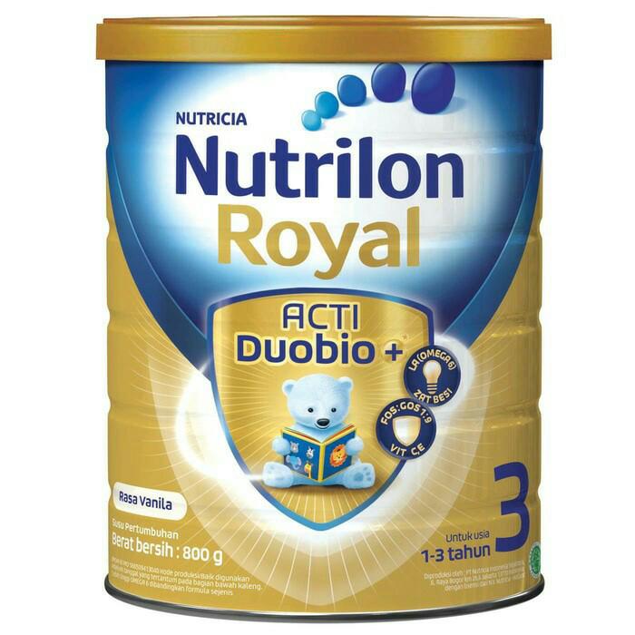 NUTRILON ROYAL 3 VANILA 800GR - Kaleng Normal