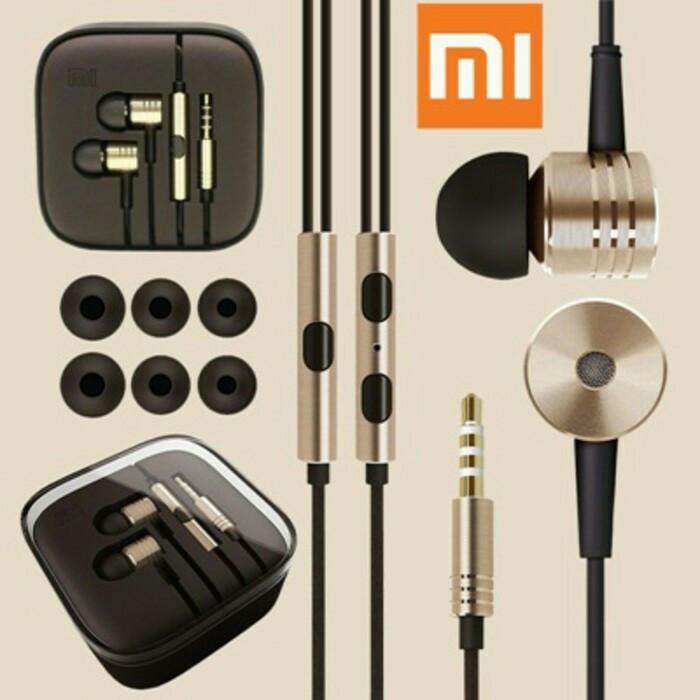 harga Murah...!!! xiomi, xiaomi, mi piston 2 headset, hansfree, earphone Tokopedia.com
