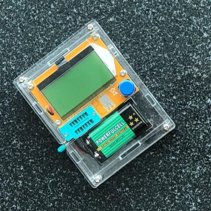 harga Lcr t4 esr meter m328 dengan case acrilic Tokopedia.com
