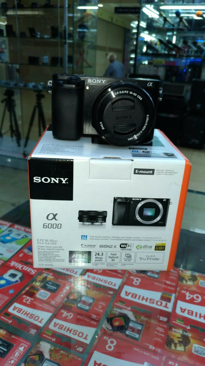 harga Sony alpa 6000 kit 16-50mm oss free extra Tokopedia.com