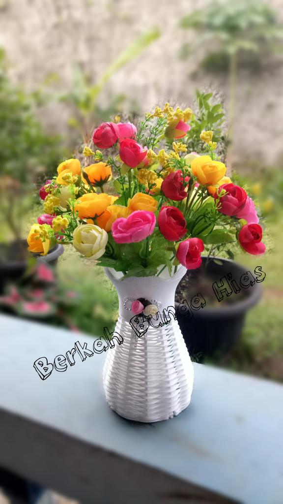 harga Bunga artifisial/bunga hias/bunga mawar plastik Tokopedia.com