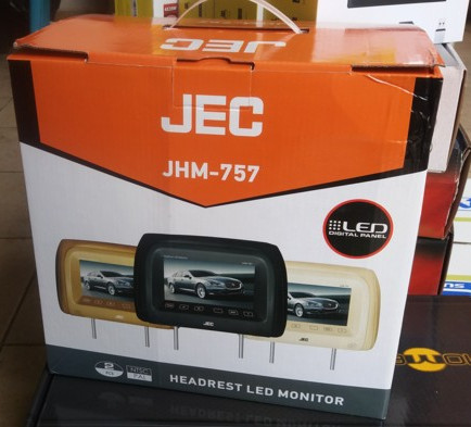 harga Tv headrest jec jhm-757 led monitor Tokopedia.com