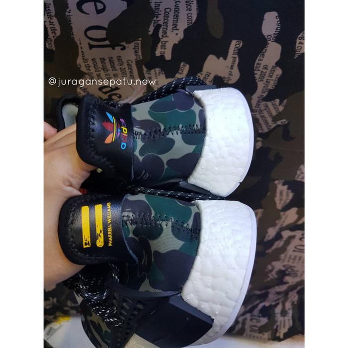 9db4540568da4 Jual Adidas Nmd Human Race x Pharrell Williams x Bape WGM - Kota ...