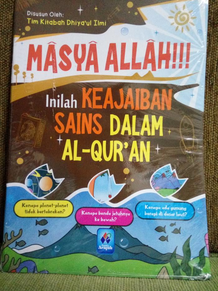 Jual Masya Allah Inilah Keajaiban Sains Dalam Al Quran Kota Depok Koleksi Tri Tokopedia