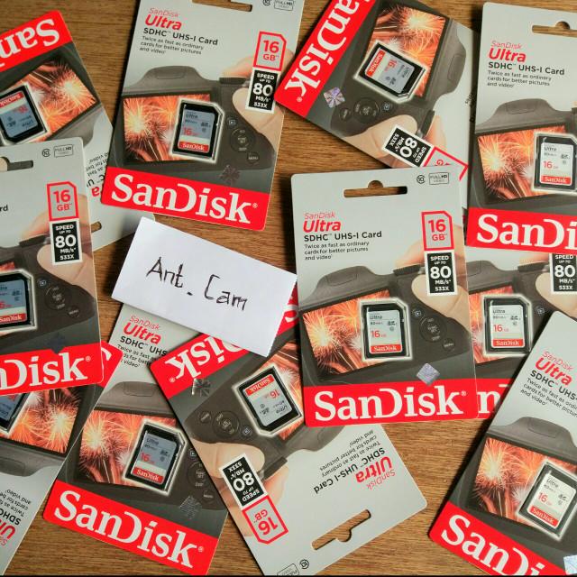 harga Memori card sandisk sdhc kamera mirrorless nikon canon sony fujifilm Tokopedia.com