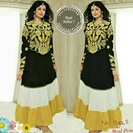 harga Baju india pesta mewah miss paridhi sharma cerutty bordir bagus murah Tokopedia.com