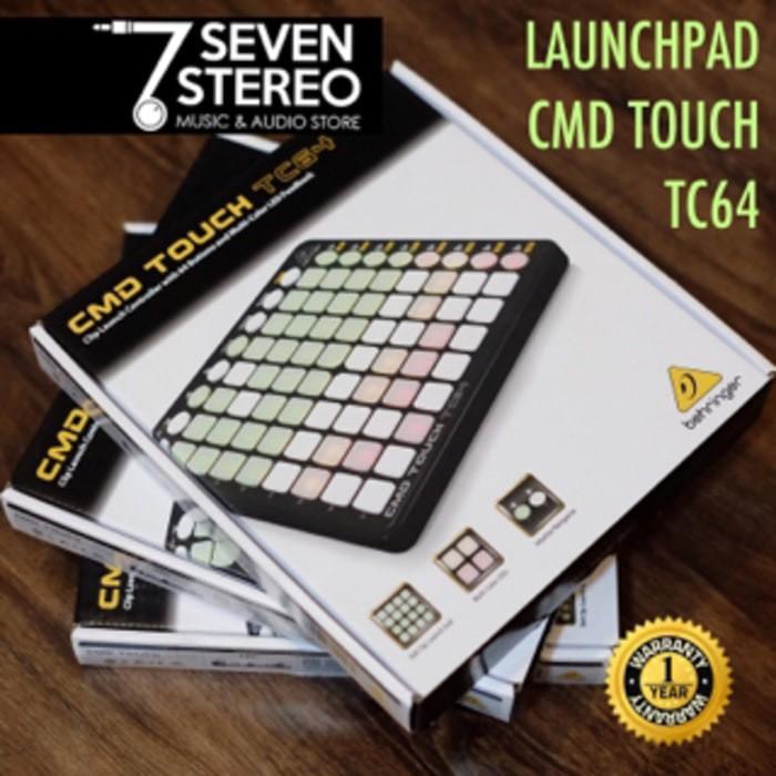 harga Behringer cmd touch tc64 dj controller - launchpad Tokopedia.com