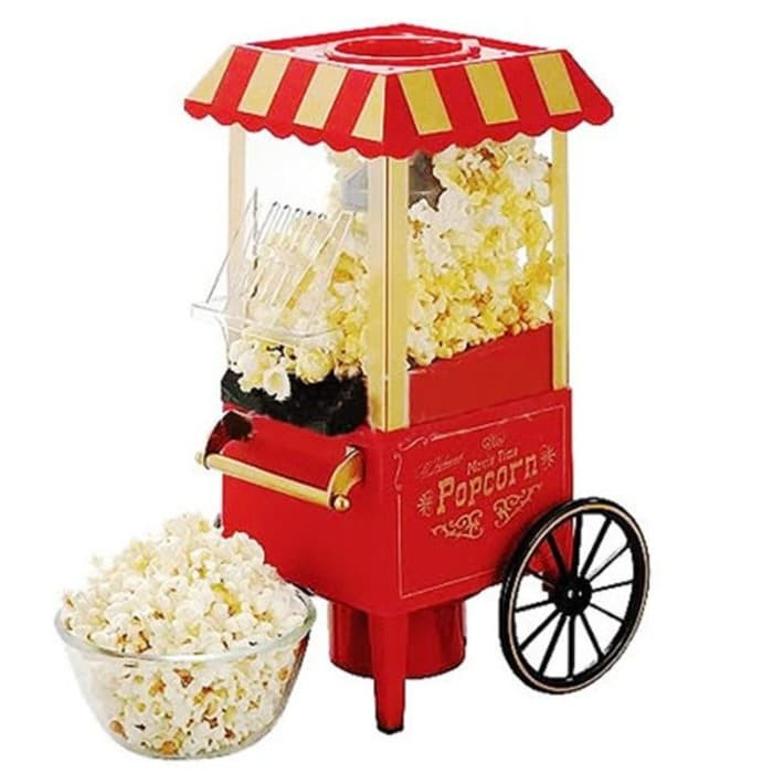 harga Popcorn maker mini model carnival / mesin mini pembuat popcorn Tokopedia.com