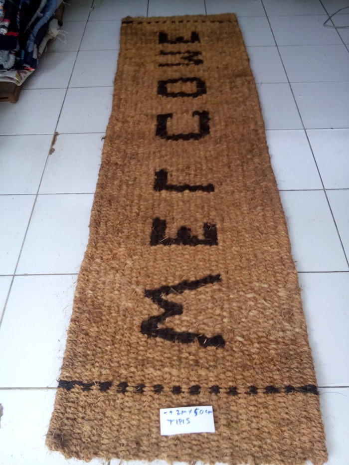 harga Keset welcome sabut kelapa 2 m x 60 cm Tokopedia.com