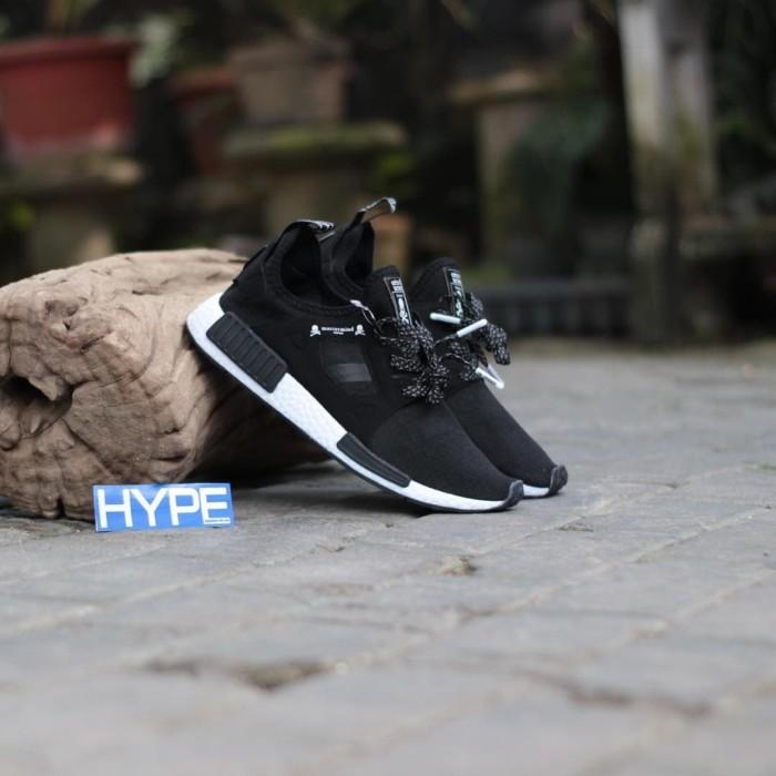 9095f0150e2e5 Sepatu Mastermind Japan x Adidas NMD XR1 Black White Murah Premium Ori