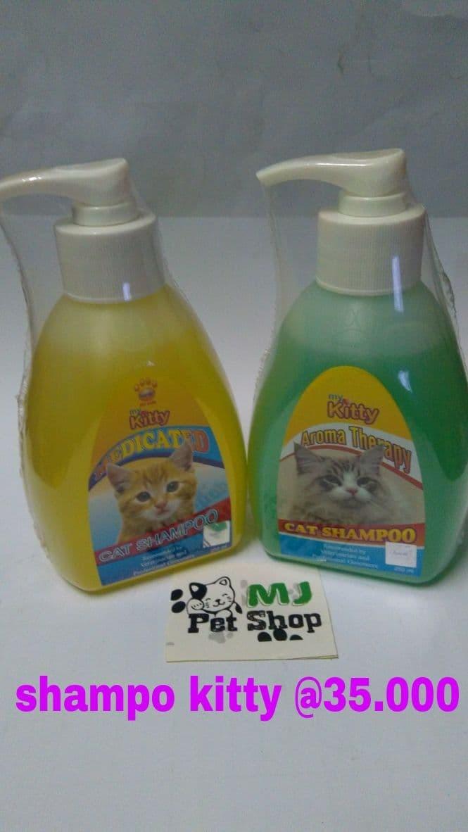 harga Shampoo kucing kitty 250 ml Tokopedia.com