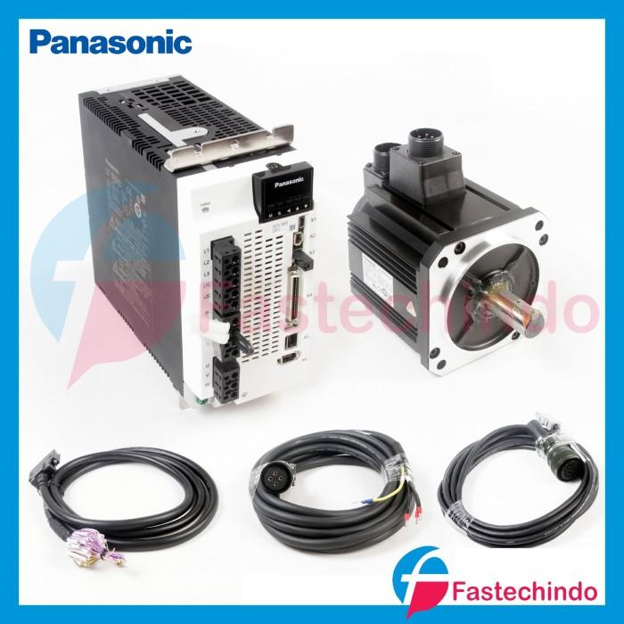 Foto Produk 1 SET PANASONIC SERVO A6 2KW dari fastech-indo