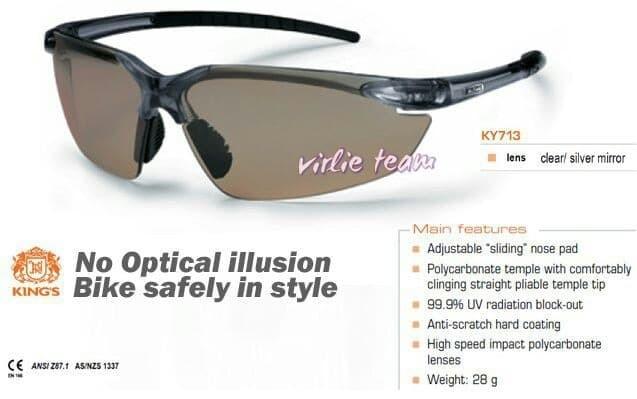 (Dijamin) Kacamata safety King'S ky 713,safety glass,