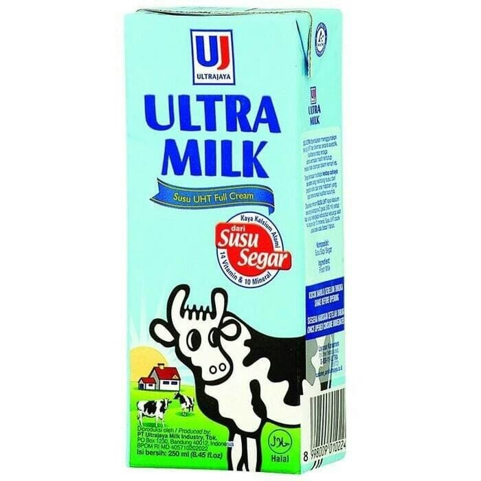 Katalog Susu Ultra Milk 250 Ml Travelbon.com