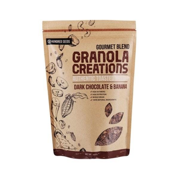harga Granola creation dark chocolate & banana gourmet mix  480 gr Tokopedia.com