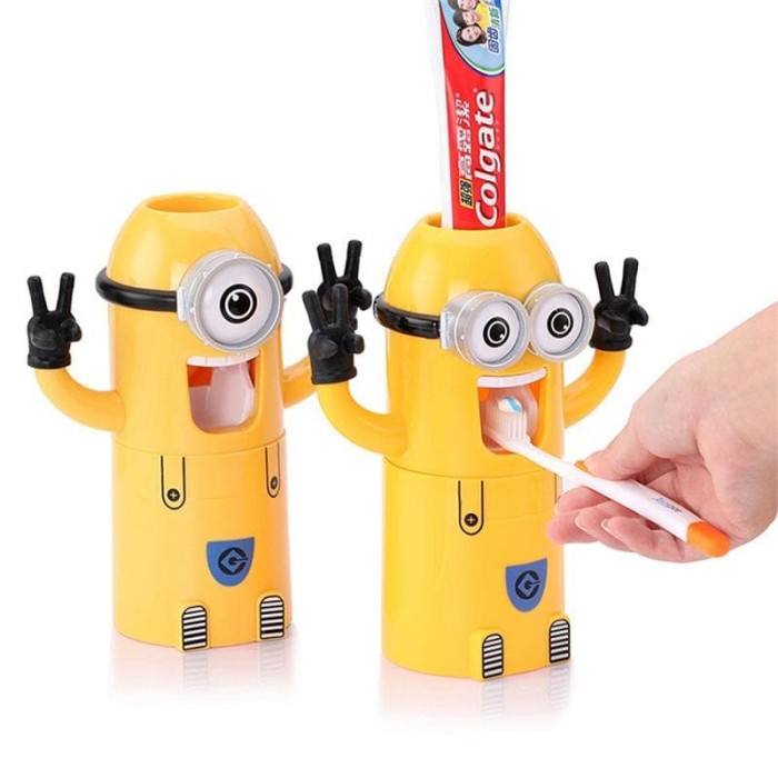 Dispenser Odol Minion Tempat Odol Dan Sikat Gigi - Info Daftar Harga ... 2565b393a4
