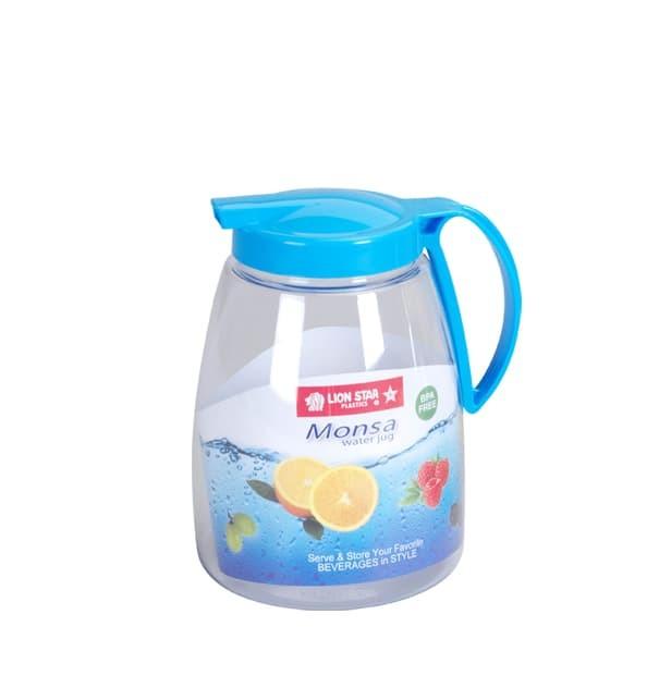 harga Monsa water jug 2.1 litres / tempat air minum / pitcher air / kendi Tokopedia.com