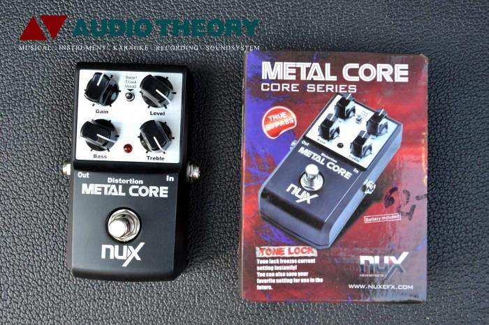 harga Nux stompbox metal core effect / efek pedal gitar original Tokopedia.com