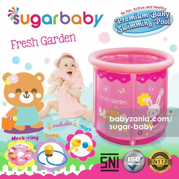harga Sugar baby premium baby swimming pool - fresh garden Tokopedia.com