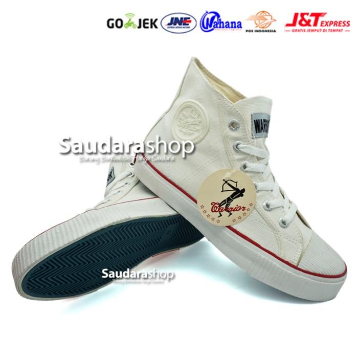 harga Sepatu warrior classic / sepatu sekolah warrior / sepatu warrior putih Tokopedia.com
