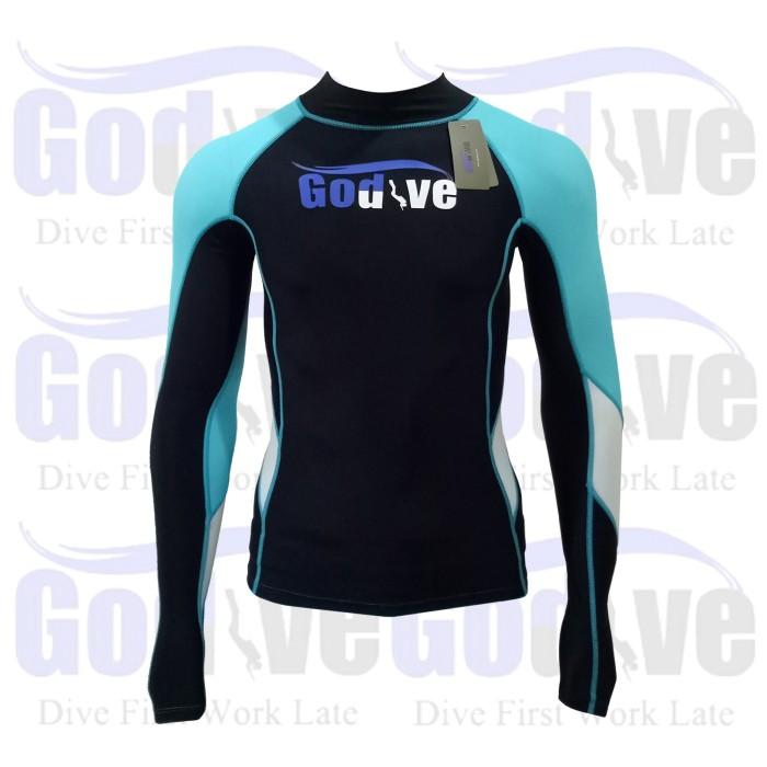 harga New alat selam godive diving snorkeling long sleeve rash guard sl-015 Tokopedia.com