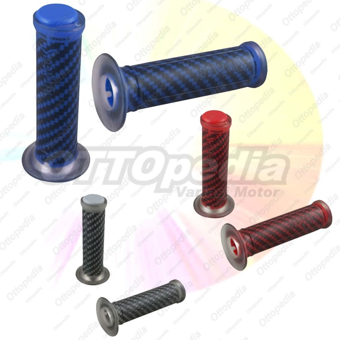 harga Hand grip sarung karet gas handfat ktc / kitaco carbon aksesoris motor Tokopedia.com