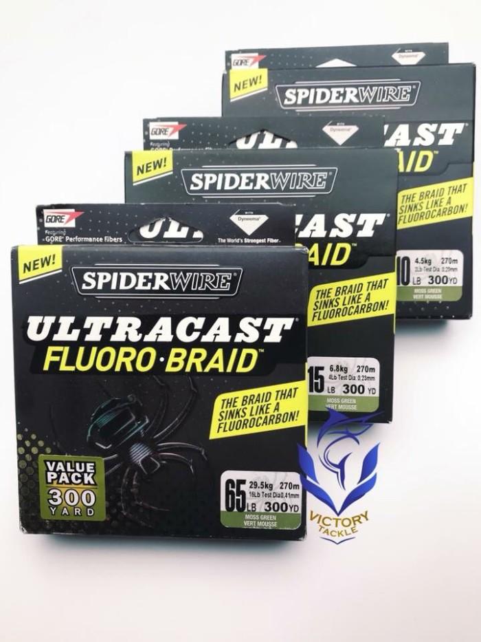 harga Pe spyderwire fluoro braid Tokopedia.com