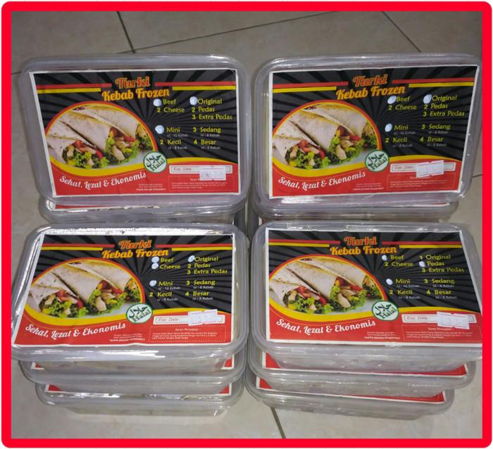 Foto Produk Kebab mini cheese beef original isi 10 pcs dari Hanum Collection
