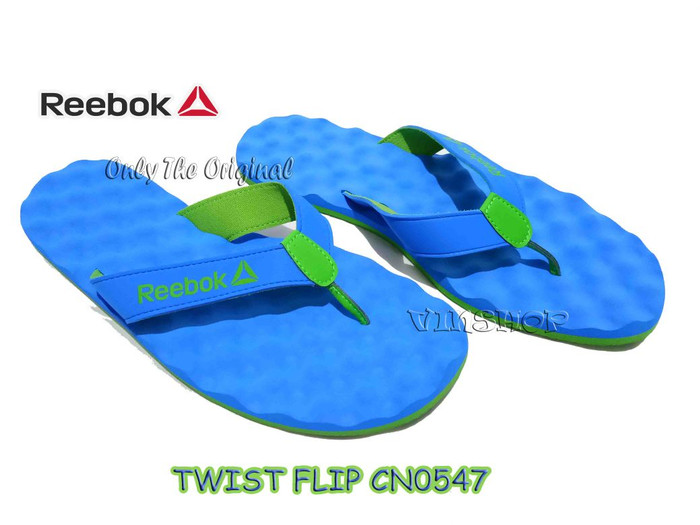 harga Sandal reebok twist flip ii lp, horizon blue/bright.cn0547 Tokopedia.com