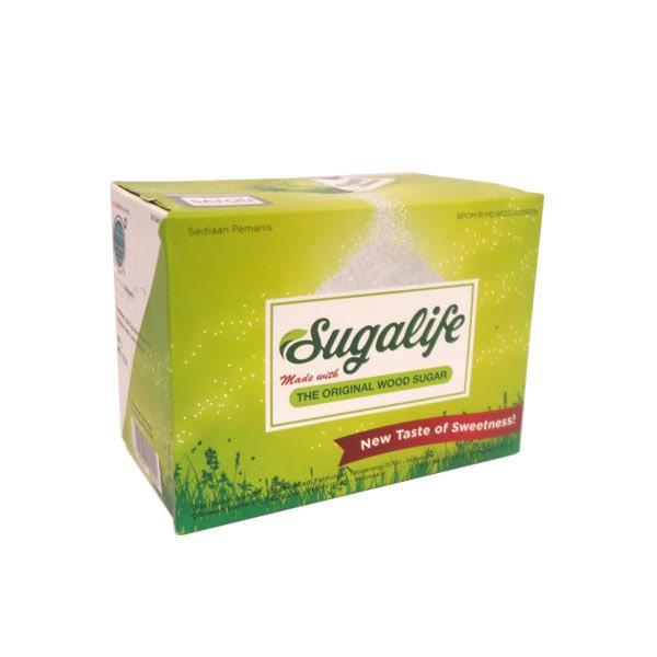 harga Sugalife the original wood sugar - gula sehat - 105gr 30 sachet Tokopedia.com