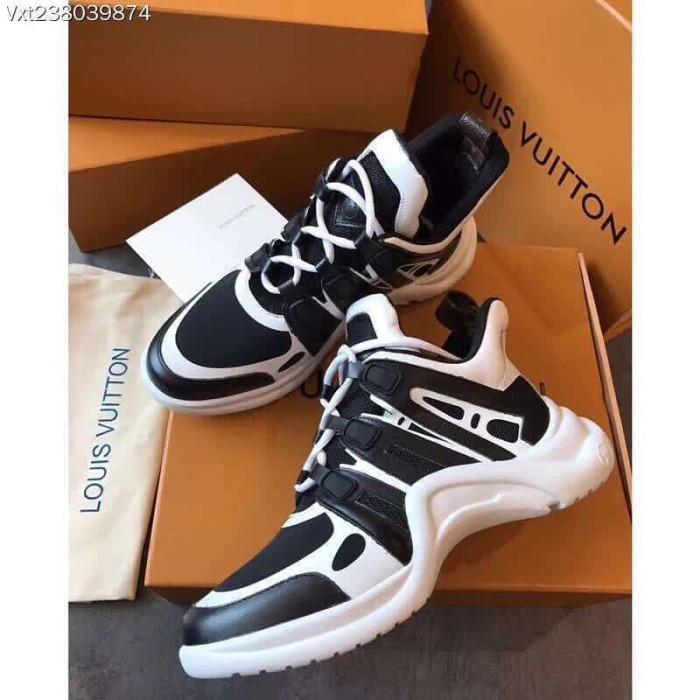 Jual sepatu sneaker branded wanita cewek lv louis vuitton mirror quali d58c42497d
