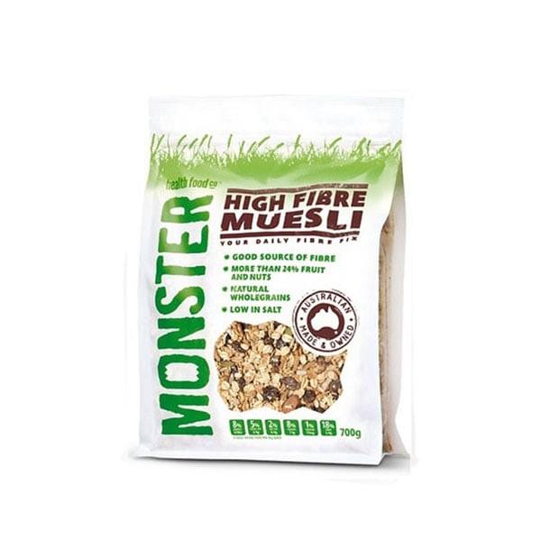 harga Monster high fiber muesli - 700 gram Tokopedia.com