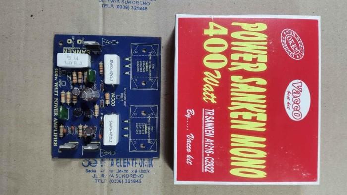 harga Kit driver power amplifier 400 watt mono - sanken Tokopedia.com