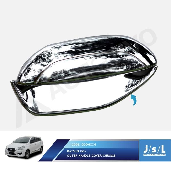 harga Datsun go  outer handle cover activo chrome/aksesoris eksterior datsun Tokopedia.com