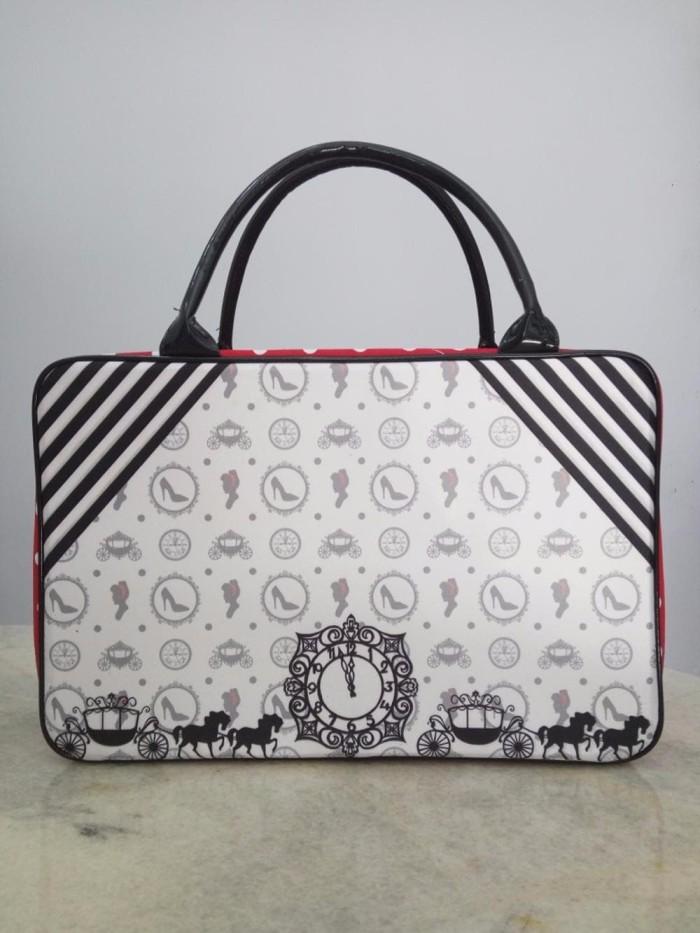 Tas koper travel renang besar kotak Princess Cinderella BEST MODEL