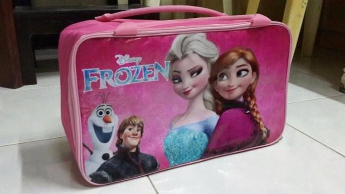 Tas Koper Tas Traveling Anak Karakter Frozen Pink BEST MODEL