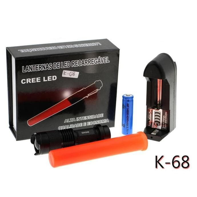 harga Lampu senter cree led k-68 Tokopedia.com