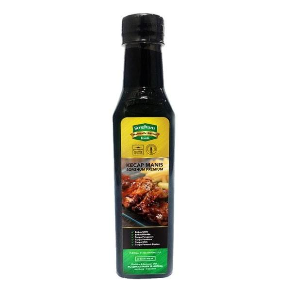 Jual Sorghum – Kecap Full Sorghum Premium – Kecap Manis Bebas Gluten 330 Ml Harga Promo Terbaru
