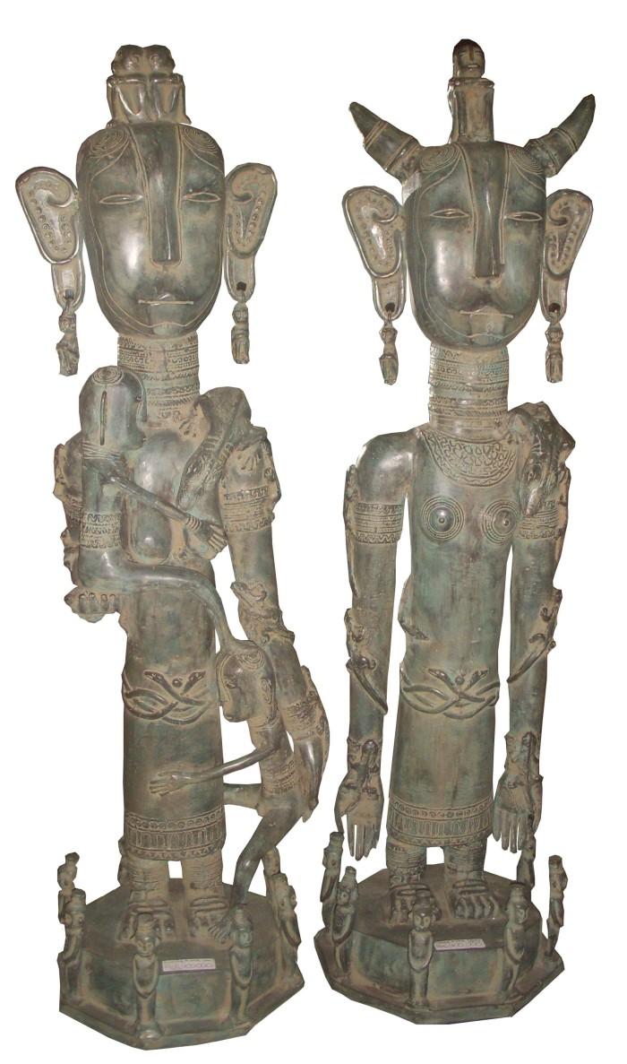 Jual Patung Nias Tua Kota Yogyakarta Moesson Antik Gallery