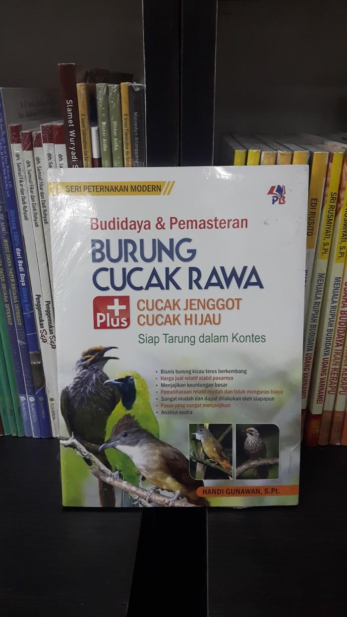 Jual BUKU BUDIDAYA DAN PEMASTERAN BURUNG CUCAK RAWA Kota Yogyakarta Rukobersahaja