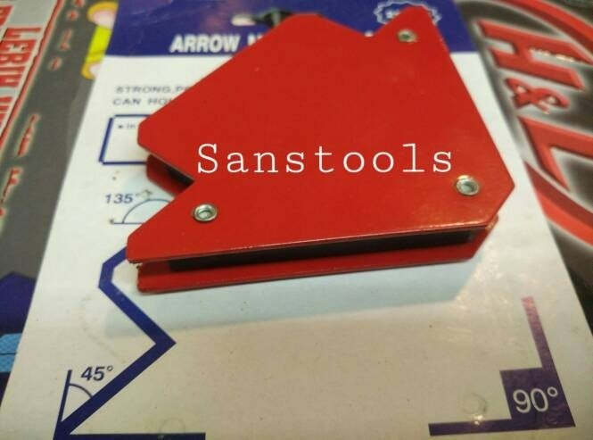 Foto Produk magnet holder arrow magnetic siku magnet untuk las 25LBS dari gloriaid