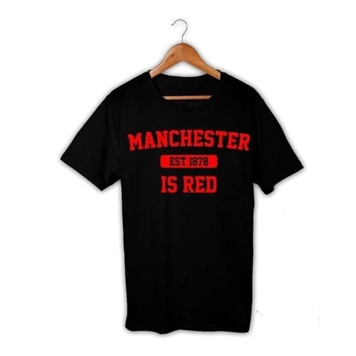 24e9279fe Jual Kaos Tshirt Baju Combed 30S Distro MU Manchester United Limited ...
